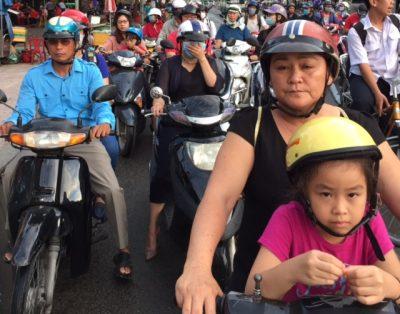 7,4 Million motorbikes in Saigon