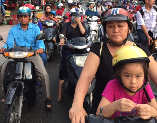 7,4 Million motorbikes in Saigon