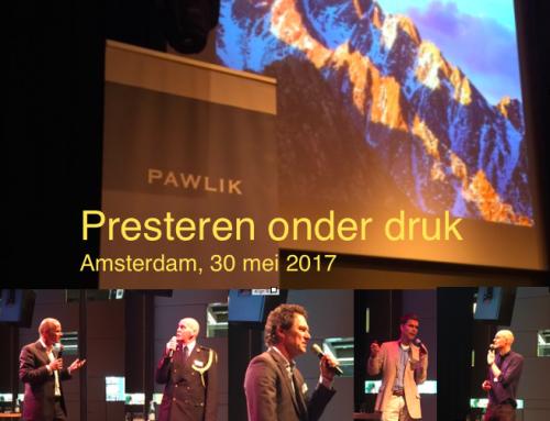 Presteren onder druk (Pawlik congres, Amsterdam, 30/5/2017)